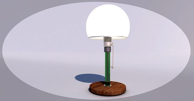 designovou lampu